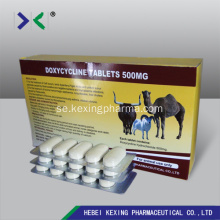 Doxycyklin 5mg Spiramycin 10mg Tablet