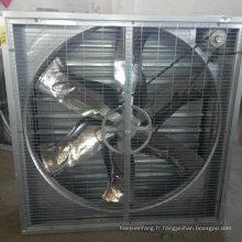 Chine fabricant de ventilateur d'échappement pour l'usine