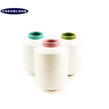 100% manufacturer in china dty spun 20s black polyester nylon blend yarn