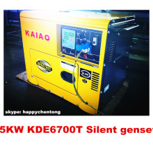 4.8kw Silent Diesel Generator mit Digital Panel