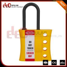 Elecpopular Productos de calidad Aislamiento Bloqueo de seguridad Hasp Dispositivos de bloqueo eléctrico con 4 orificios de candado