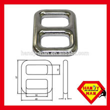 A222 Liga de alumínio Forged Adjuster Double Slot Buckle