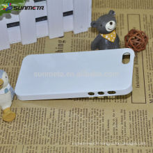Factory Wholesale 3D Sublimation Blank Cell Phone Case Printing pour ip5