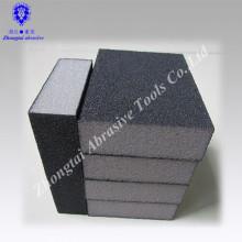 """3-3 / 4 """"* 2-1 / 2"""" * 1 """"Aluminiumoxid vier Seiten Schleifen Spong Block"""
