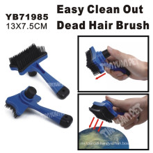 Pet Brush with Remove Dead Hair Function, 13X7.5cm