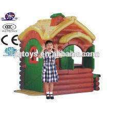 JQ3007 Hotsale Niños juguete plástico del jardín de la casa del juego