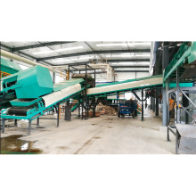 Environmental friendly sorting garbage recycling plant for sale