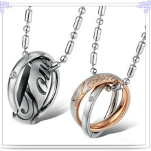 Couple Pendant Stainless Steel Jewelry Fashion Necklace (NK145)