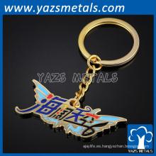 llavero personalizado de metal para la exhibición promocional