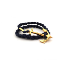 promotional custom paracord survived metal bracelet for man and woman