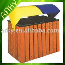 Good quality Outdoor Wooden Trash Bins