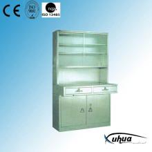 Stainless Steel Hospital Medical Instrument Cabinet (U-10)