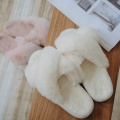 Breathable Memory Foam Bedroom Fuzzy Fur Slides Slippers