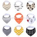 novos babadores de bebê softextile 100% algodão ajustável