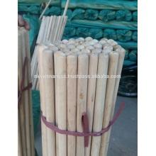 Palo de escoba de madera natural barato de la venta caliente