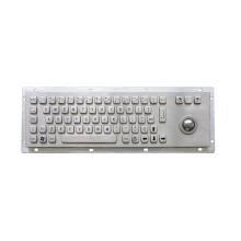 USB Wired Numeric Metal Keyboard mit Trackball