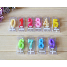 Many Colors cheaper Birthday Number Cake Candle