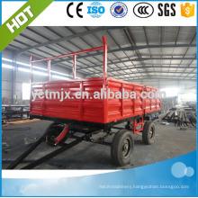 farm machine tractor trailer/Tractor Tipping Trailer