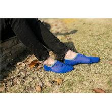 Men Invisible Cotton Socks with Silicion Gel Heel
