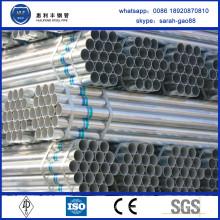 Alibaba Chine Fournisseur tuyau / tube pré-galvanisé pour serre