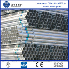 Alibaba China Supplier pre-galvanized pipe/tube for greenhouse
