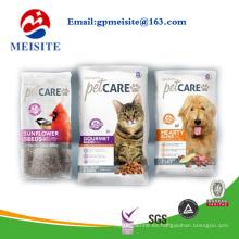 Doypack de grado alimenticio Dog Treats bolsa de embalaje bolsa / bolsa de alimentos para mascotas