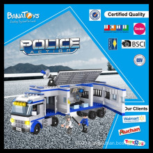 Special Offer!Educational game for kids toys education blocks police car electric police accessories