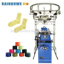 rb pequeña computadora automática jacquard personalizado equipo de producción de calcetines para hacer calcetines