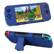 Всего тела кожаный PU защитный чехол для Nintendo Nintend переключатель радость-Кон НС в NX игровой контроллер консоли