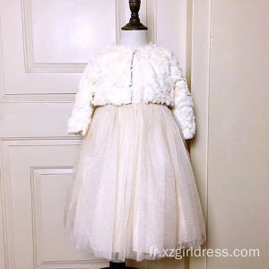Ensemble de deux pièces Elastic Hair Princess Dress