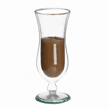 Borosilicate Weight Double Wall Glass Cups