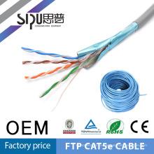 SIPU высокое качество ftp ПВХ изоляция cat5e сетевой кабель