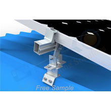 Factory Price Solar Mounting Clamp Stainless Steel Trapezoidal Metal Roofing Clamp