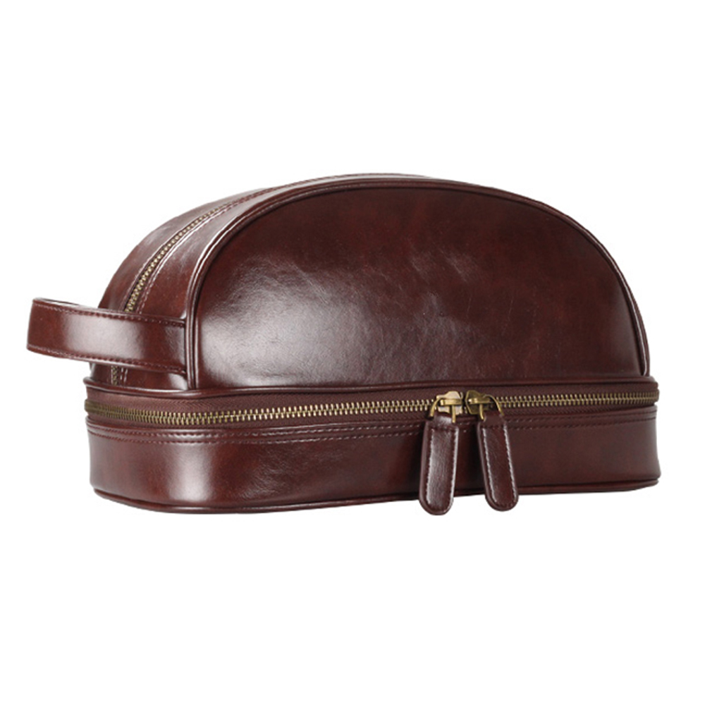 PU Leather Toiletry Bag