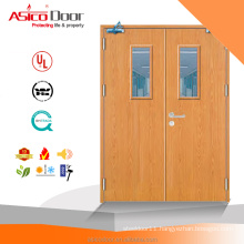 Asico Fire Core Thermal Heat Resistenance BS listed European Standard Wooden Fire Door