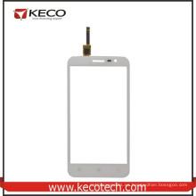 Pantalla de cristal del digitizador del panel de tacto del teléfono móvil de 5.0 pulgadas para Lenovo A8 A806 blanco