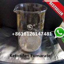 99.50% pureza Ketotifen Fumarate Polvo Zaditor CAS 34580-14-8 Ep estándar