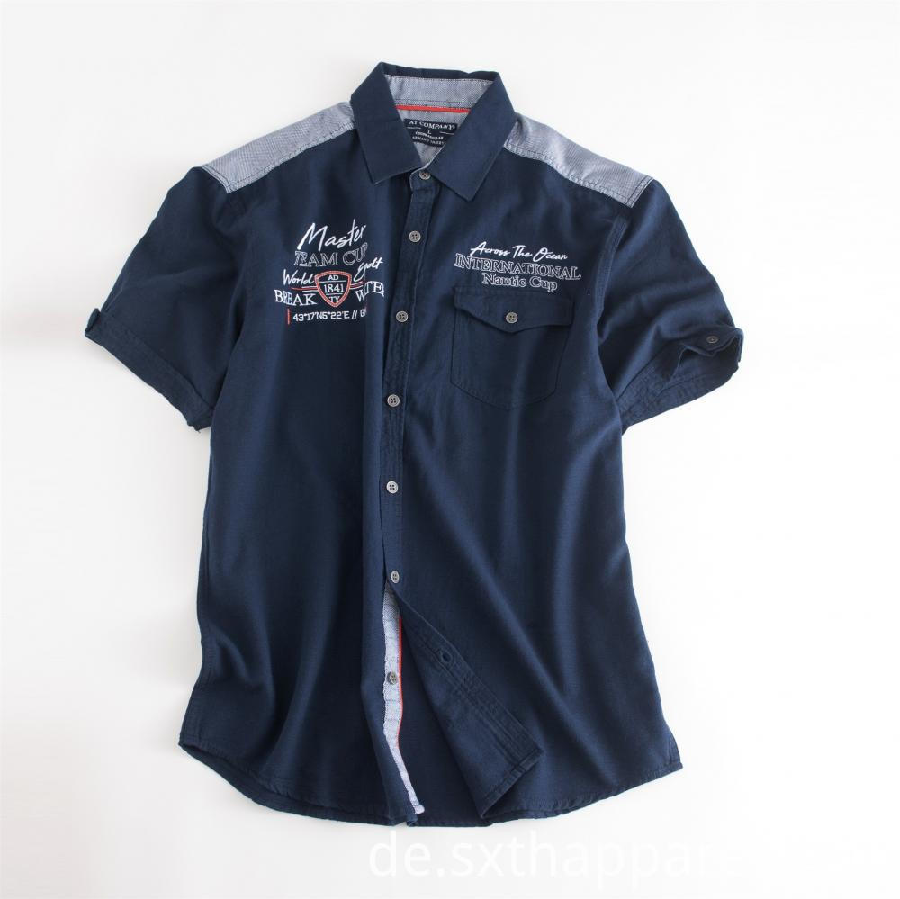Hotsale Men's Dark Blue Shirt