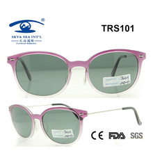 Promotional High Quality Beautiful Tr Sunglass (TRS101)
