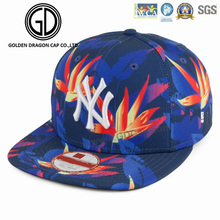 2017 High Quality Digital Screen Printing Sports Snapback Cap with Embroidery Logo