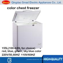 mini congelador de pecho profundo al por mayor barato