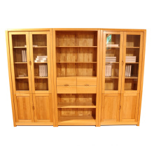 Modern Wooden Painting Office Book Cabinet (p5)