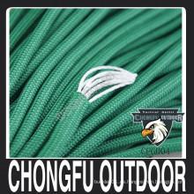 2016 nuevo producto deporte al aire libre tipo III nylon paracord supervivencia cuerda