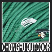 2016 novo produto esporte ao ar livre tipo III nylon paracord sobrevivência corda