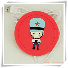 USB Heat Coaster/Cup Mat for Promotion