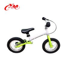 2016 heißer verkauf 12 zoll weiß mini balance bike / top qualität luft reifen kinder ersten fahrrad / V bremse 2 rad kleinkind fahrrad für verkauf