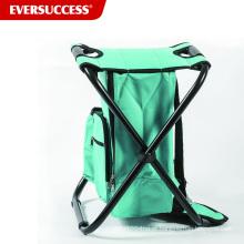 Mochila Cooler Chair Compacto Leve e Portátil Folding Stool - Perfeito para Eventos Ao Ar Livre, Viagens, Caminhadas, Camping, Ta