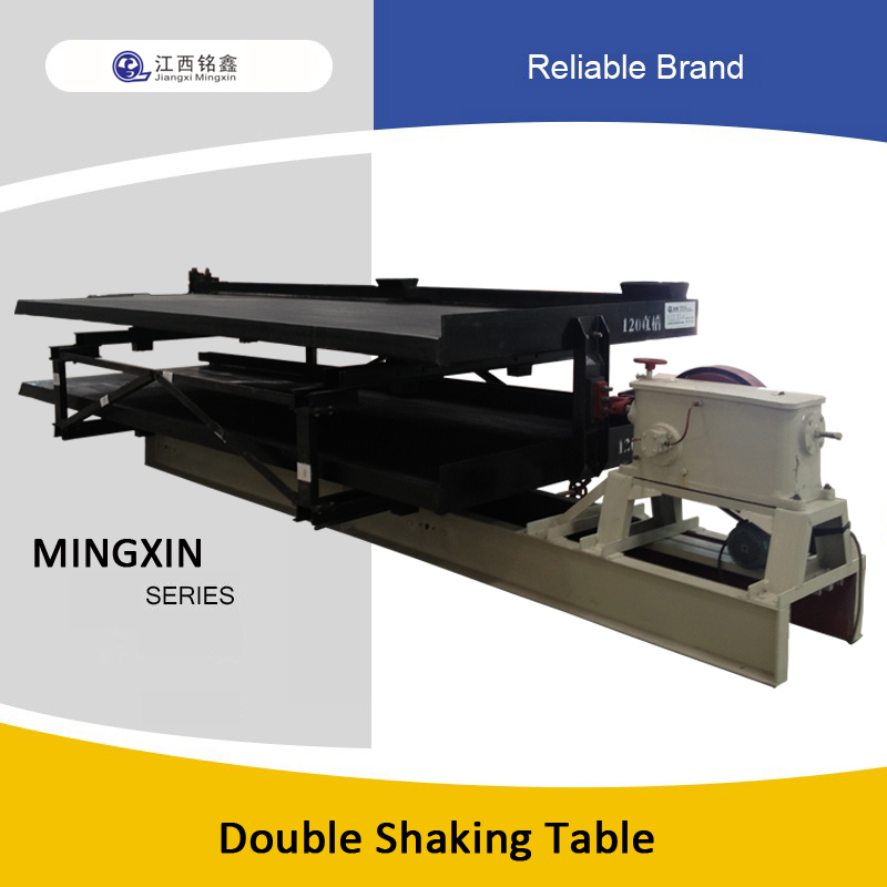 double shaking table