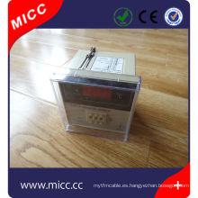 control del termostato digital del horno