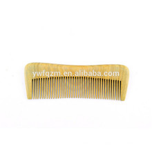 2018 antigo logotipo sandalwood verde pêlos da barba pente escova de cabelo